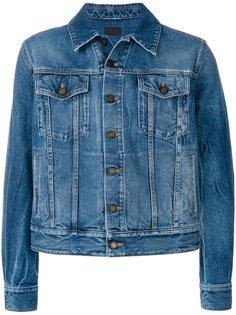 джинсовая куртка прямого кроя Saint Laurent