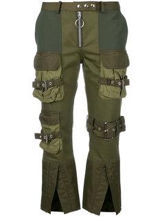 укороченные брюки карго Marquesalmeida