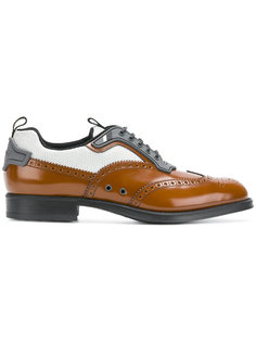 туфли со шнуровкой Prada