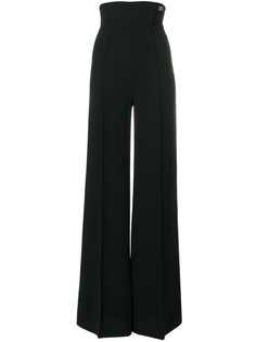 расклешенные брюки с высокой талией Elisabetta Franchi