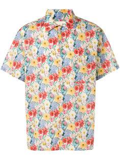 рубашка с короткими рукавами и цветочным принтом R13