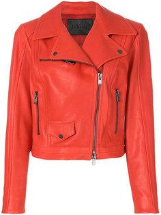 кожаная байкерская куртка  Drome