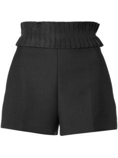 шорты с плиссированным поясом Jil Sander