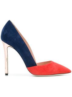 туфли дизайна колор-блок Pollini