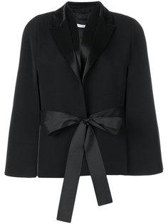 куртка с расклешенными рукавами и поясом  Givenchy