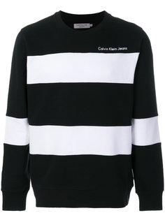 толстовка в полоску Honi Calvin Klein Jeans