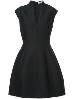 мини-платье с глубоким вырезом Halston Heritage