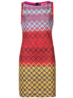 мини-платье в стиле колор-блок Missoni