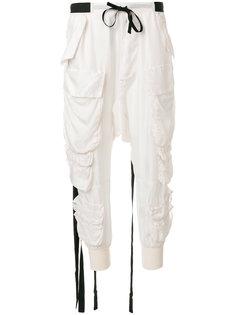 спортивные брюки карго Unravel Project