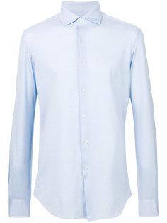 рубашка с косым воротником Xacus