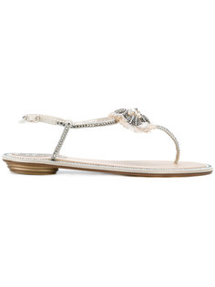 embellished thong sandals  René Caovilla