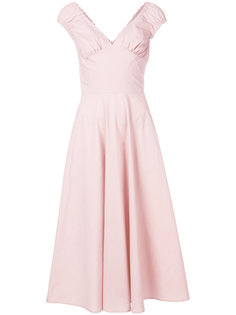 поплиновое платье Ermanno Scervino