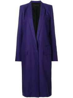 удлиненное пальто Haider Ackermann