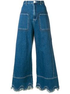 джинсовые кюлоты See By Chloé