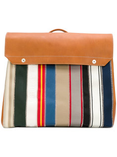 рюкзак в полоску Maison Margiela