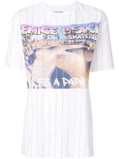 футболка с принтом Venice Beach Filles A Papa