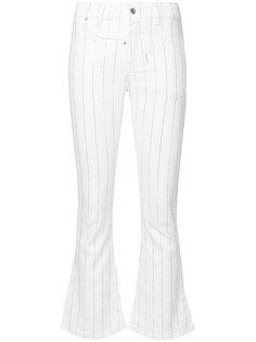 полосатые укороченные джинсы Bella Filles A Papa