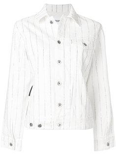 полосатая джинсовая куртка Bailey Filles A Papa