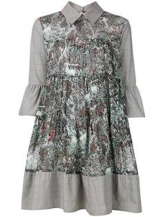 платье-рубашка с рукавами-колокол IM Isola Marras