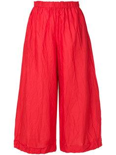 укороченные широкие брюки  Daniela Gregis