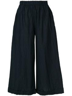 широкие укороченные брюки  Daniela Gregis