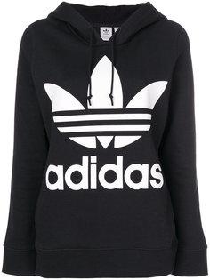 толстовка с капюшоном и логотипом Adidas Originals Trefoil Adidas