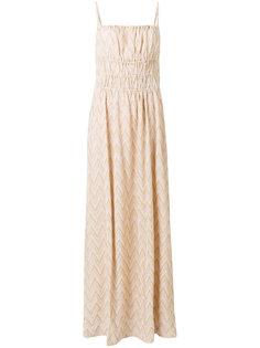 платье макси с узором шеврон M Missoni