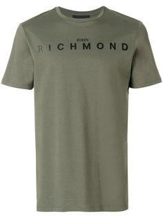 футболка с логотипом John Richmond