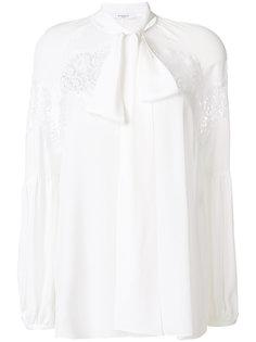 блузка с завязкой на бант Givenchy