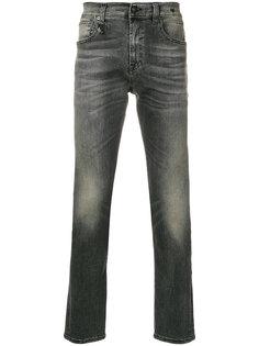 """джинсы кроя слим с эффектом """"варенки"""" R13"""