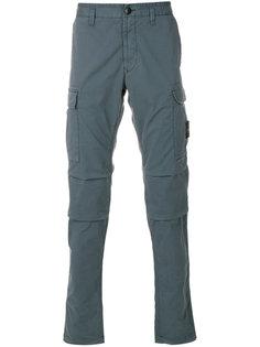 брюки чинос с накладными карманами Stone Island