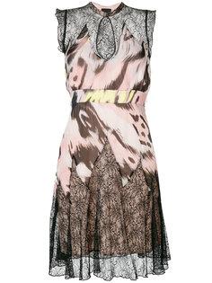платье с кружевными панелями Just Cavalli