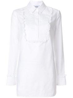 удлиненная рубашка с нагрудником Dondup
