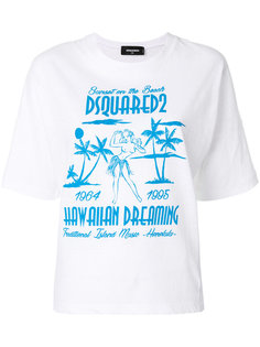 футболка с принтом Hawaiian Dreaming Dsquared2