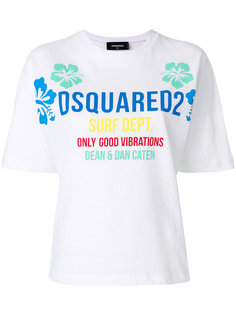 футболка с логотипом Surf Dsquared2