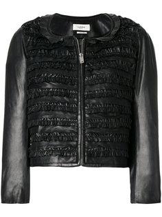 укороченная куртка со сборкой  Isabel Marant Étoile