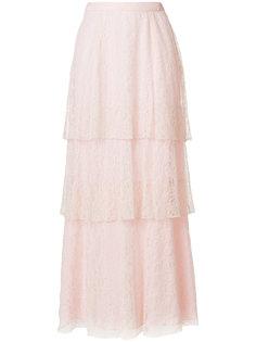 длинная кружевная юбка Dondup