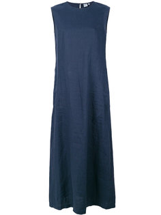 расклешенное длинное платье  Aspesi