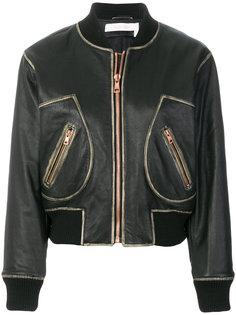 классическая куртка-бомбер See By Chloé
