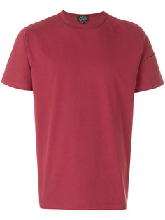 sleeve pocket T-shirt A.P.C.