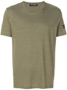 футболка с принтом на рукаве Neil Barrett