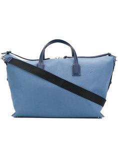 дорожная сумка с кожаной отделкой Loewe