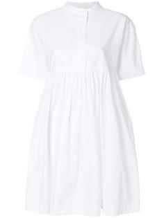 платье-рубашка с короткими рукавами Woolrich