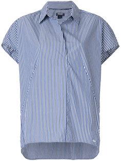 полосатая рубашка с короткими рукавами Woolrich
