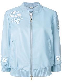 куртка-бомбер с вырезными деталями Blugirl
