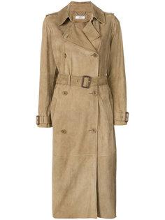 двубортное пальто с поясом  Desa 1972