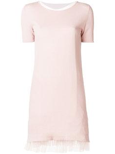 многослойное платье из тюля  Blugirl