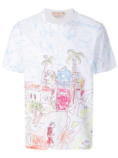 футболка с принтом Magdalena Suarez Marni