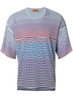 футболка с полосатым принтом Missoni
