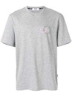 футболка с графическим принтом  MSGM
